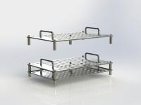 mm2-150-008 Studio  con pallet in acciaio inox