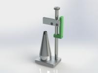 mm2-079-151 Attrezzatura per controllo rasamenti su ingranaggio pompa