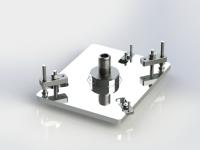 mm2-090-274 Studio per staffaggio particolare in elettroerosione